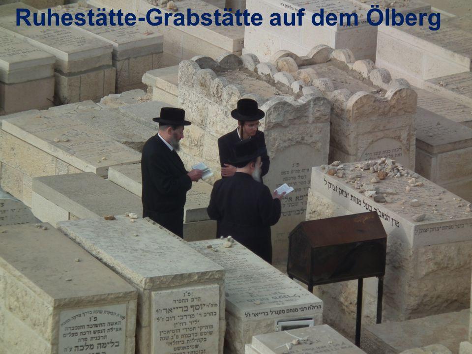 Ruhestätte-Grabstätte auf dem Ölberg