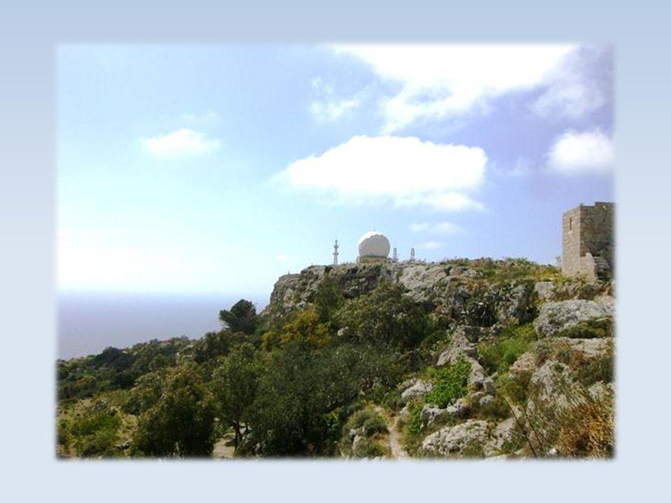 Höchste Stelle von Malta (250 m hoch)