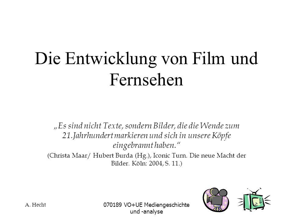 A. Hecht070189 VO+UE Mediengeschichte und -analyse Farbfernsehen