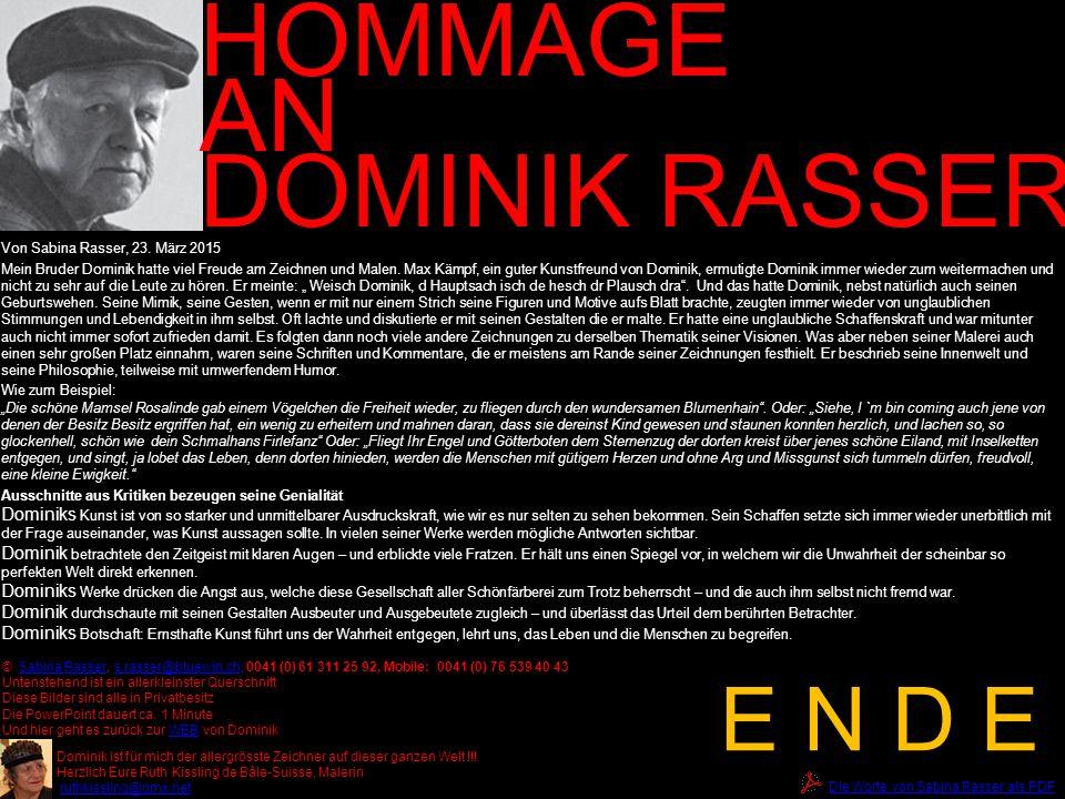 60 Jahre Marti Präsident des Vereins Alte Kirche Härkingen HOMMAGE AN DOMINIK RASSER © Sabina Rasser, s.rasser@bluewin.ch, 0041 (0) 61 311 25 92, Mobi