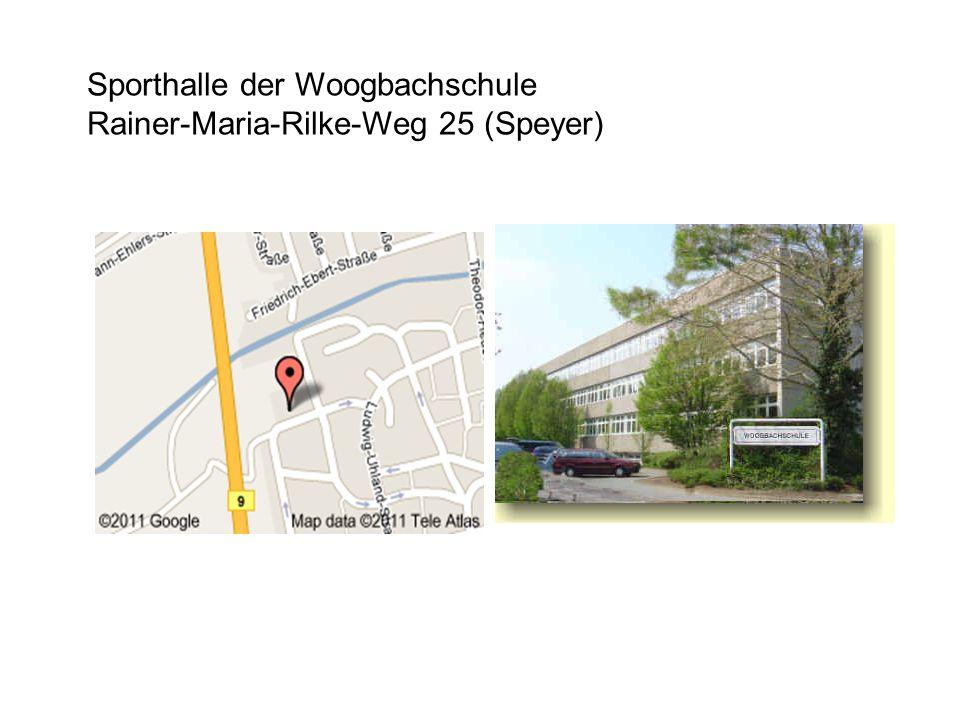 Sporthalle der Woogbachschule Rainer-Maria-Rilke-Weg 25 (Speyer)