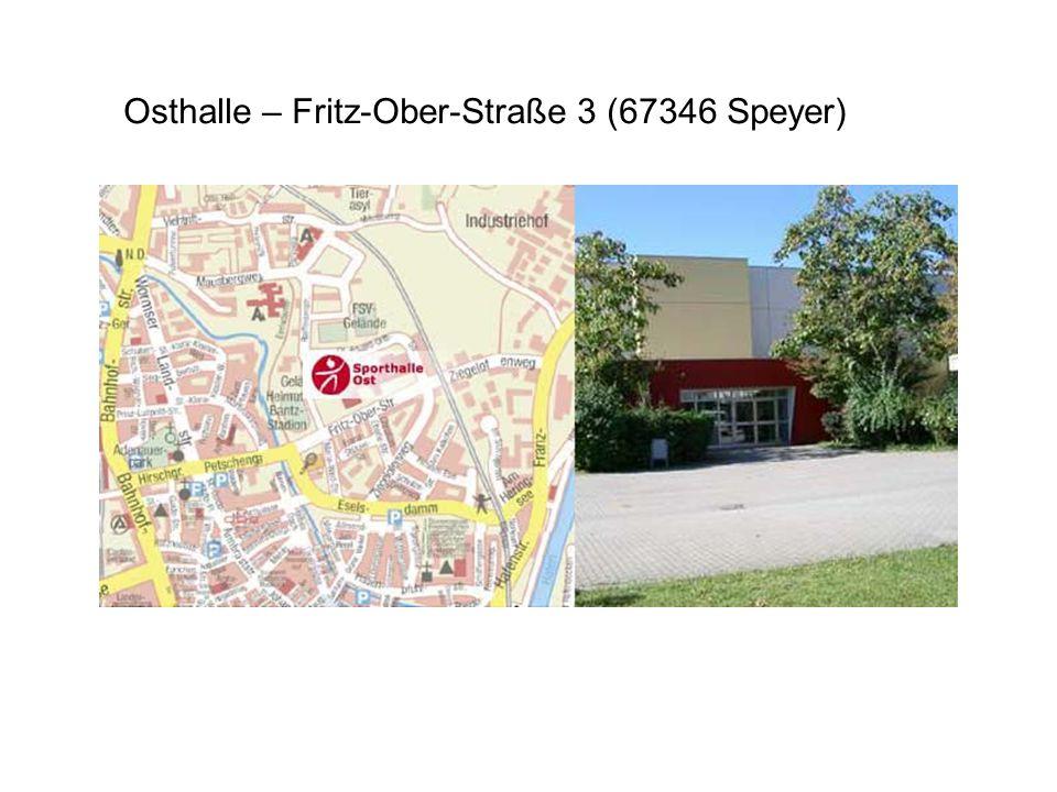 Sporthalle Hans-Purrmann-Gymnasium Vincentiusstraße 5 (67346 Speyer) im Schulhof