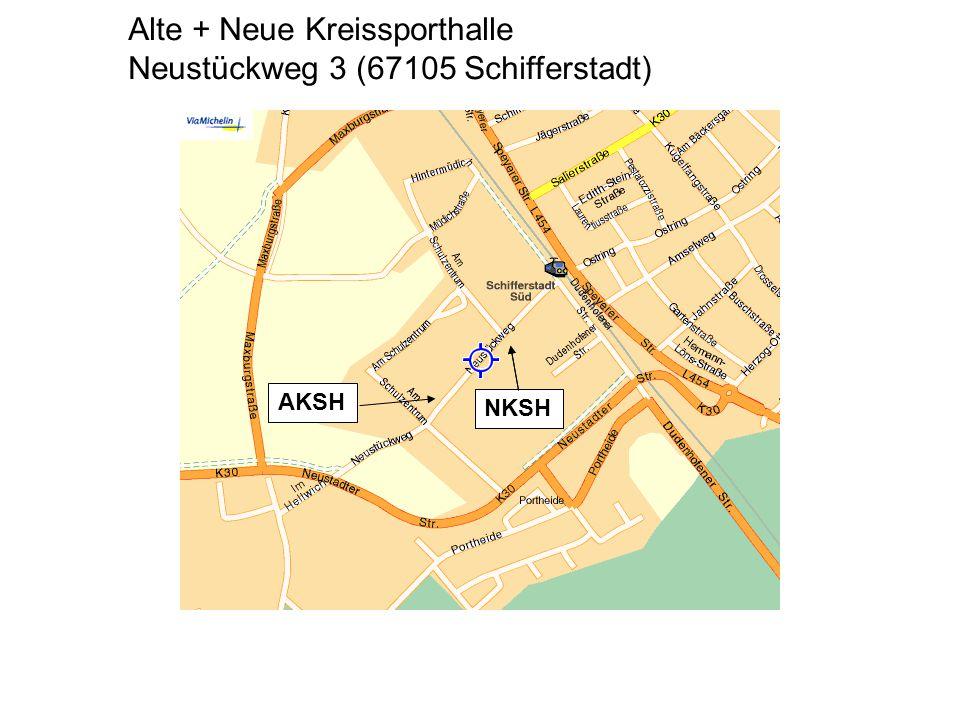 Alte + Neue Kreissporthalle Neustückweg 3 (67105 Schifferstadt) NKSH AKSH