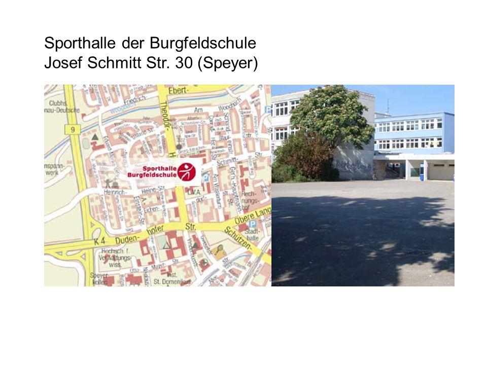 Sporthalle der Burgfeldschule Josef Schmitt Str. 30 (Speyer)