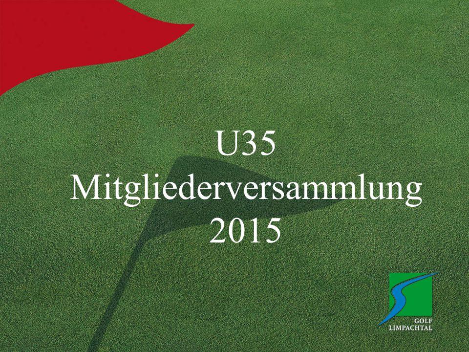 U35 Mitgliederversammlung 2015