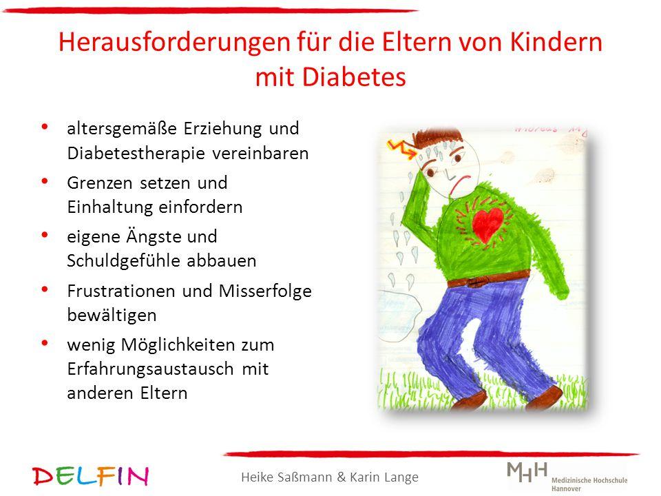 Heike Saßmann & Karin Lange Herausforderungen für die Eltern von Kindern mit Diabetes altersgemäße Erziehung und Diabetestherapie vereinbaren Grenzen