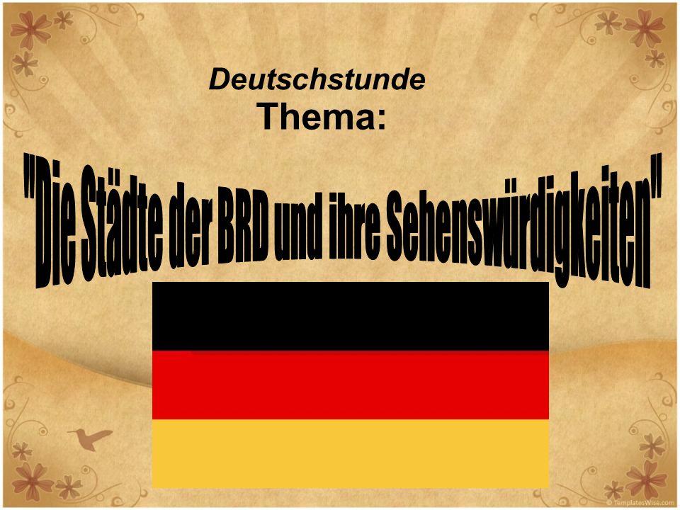 Deutschstunde Thema:
