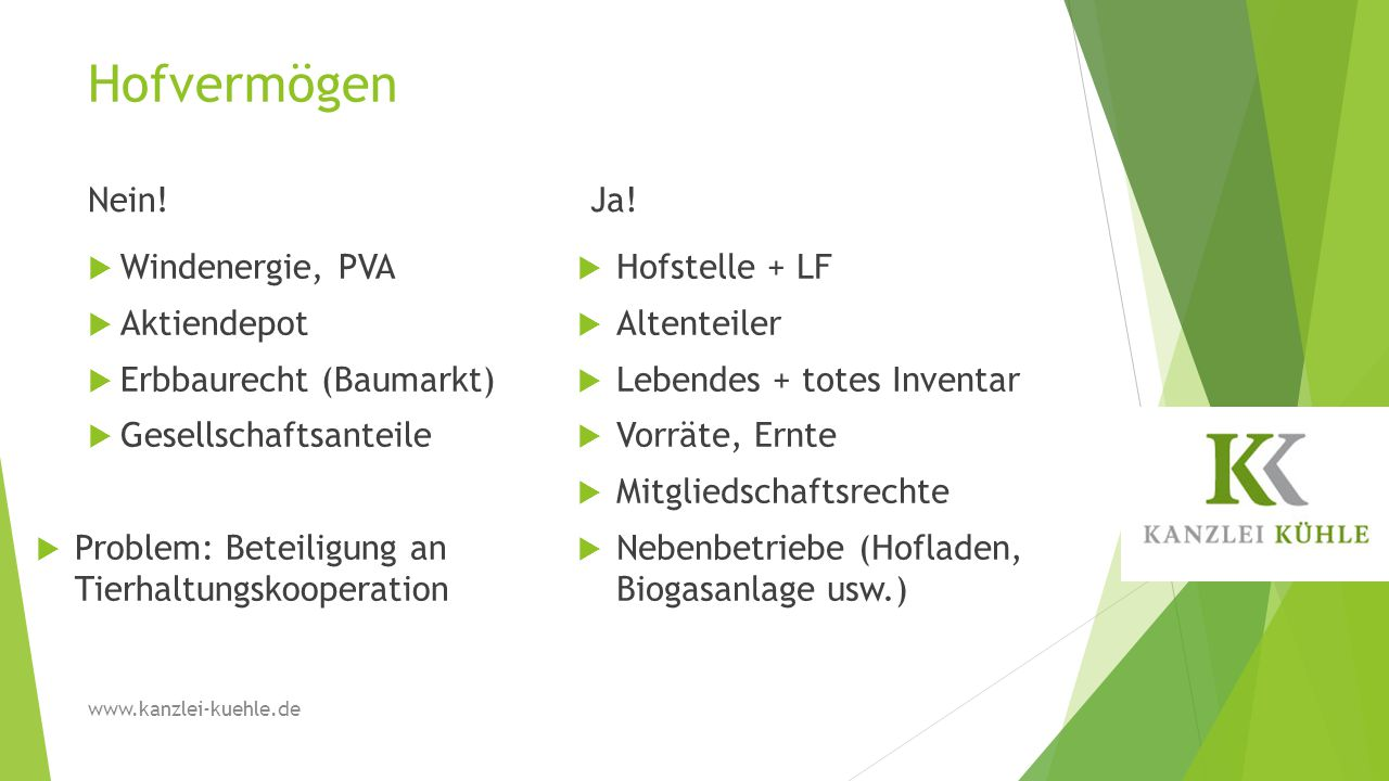 2.Gesetzliche Erbfolge BGB Erbengemeinschaft z.B.