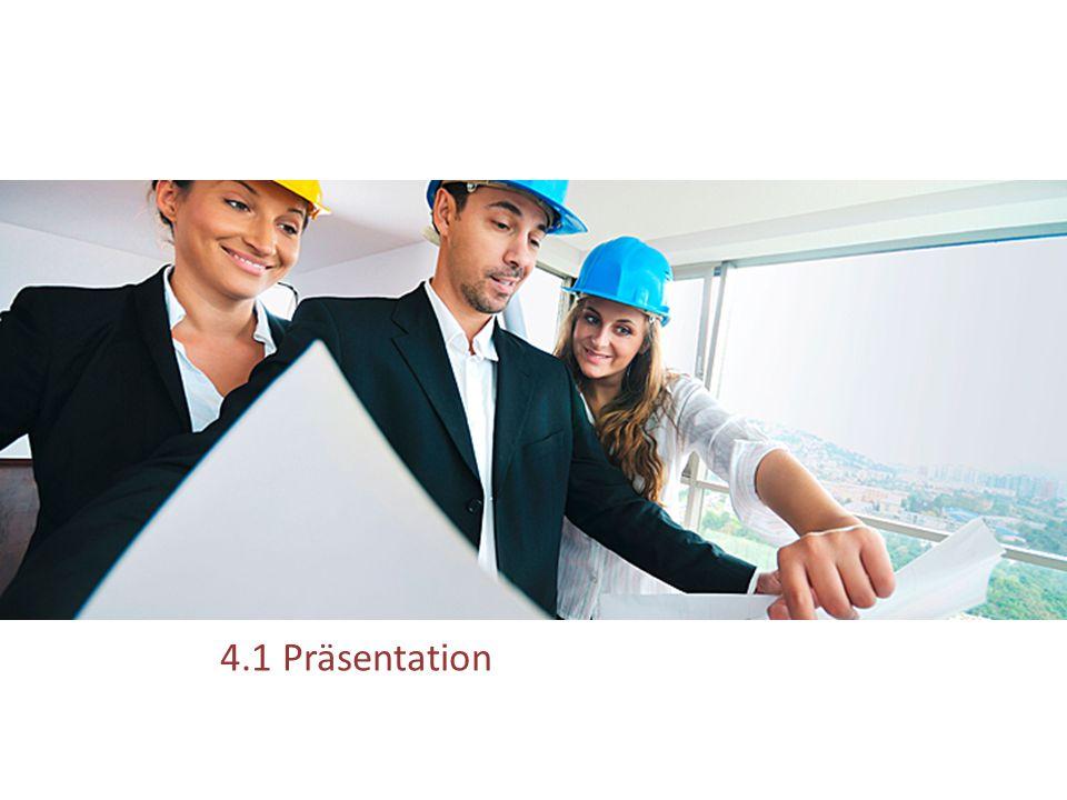 4.1 Präsentation