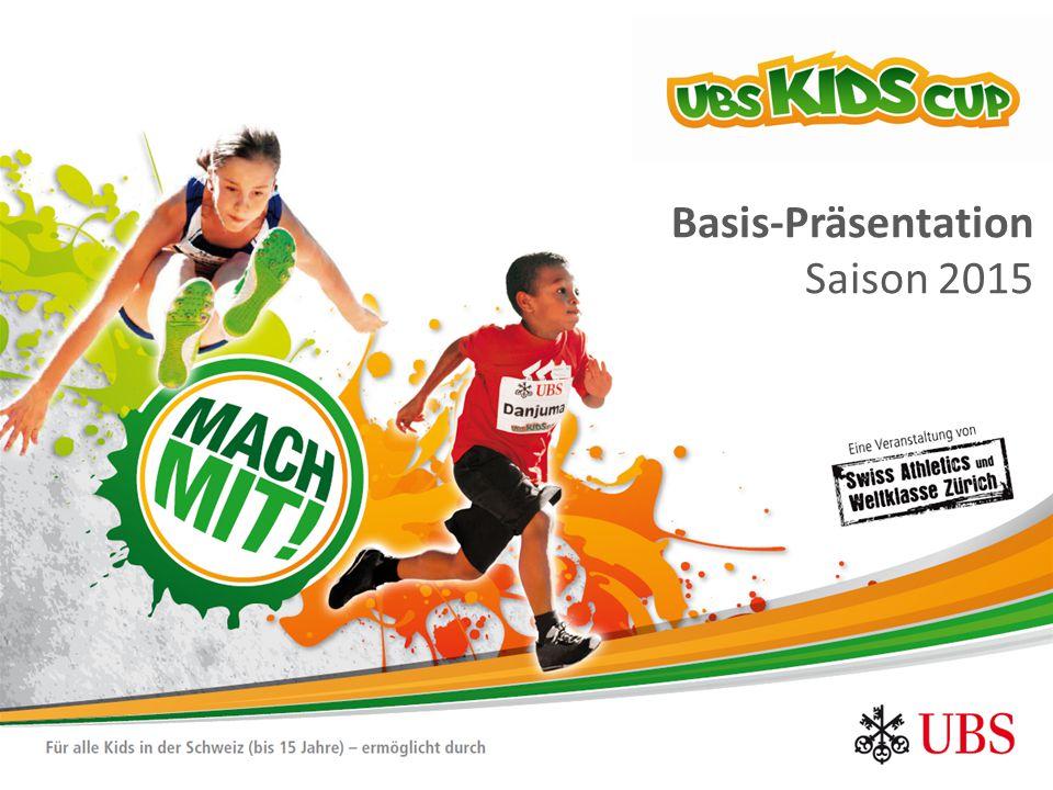 Die Leichtathletik-EM 2014 als Startschuss für eine neue Nachwuchsplattform UBS Kids Cup - Raison d'être  2009 - 2011 Um den Grossanlass «Leichtathletik Europameisterschaften 2014 in Zürich» nachhaltig nutzen zu können, entsteht die Nachwuchsplattform UBS Kids Cup auf der Basis des erdgas athletic cup.