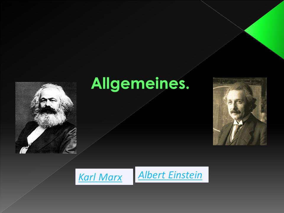 Karl Marx Albert Einstein