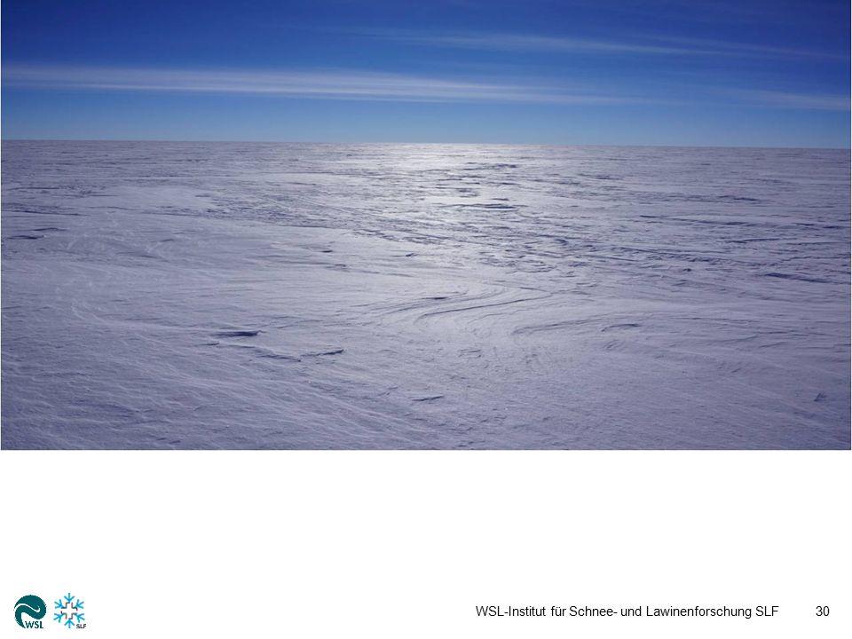 WSL-Institut für Schnee- und Lawinenforschung SLF30