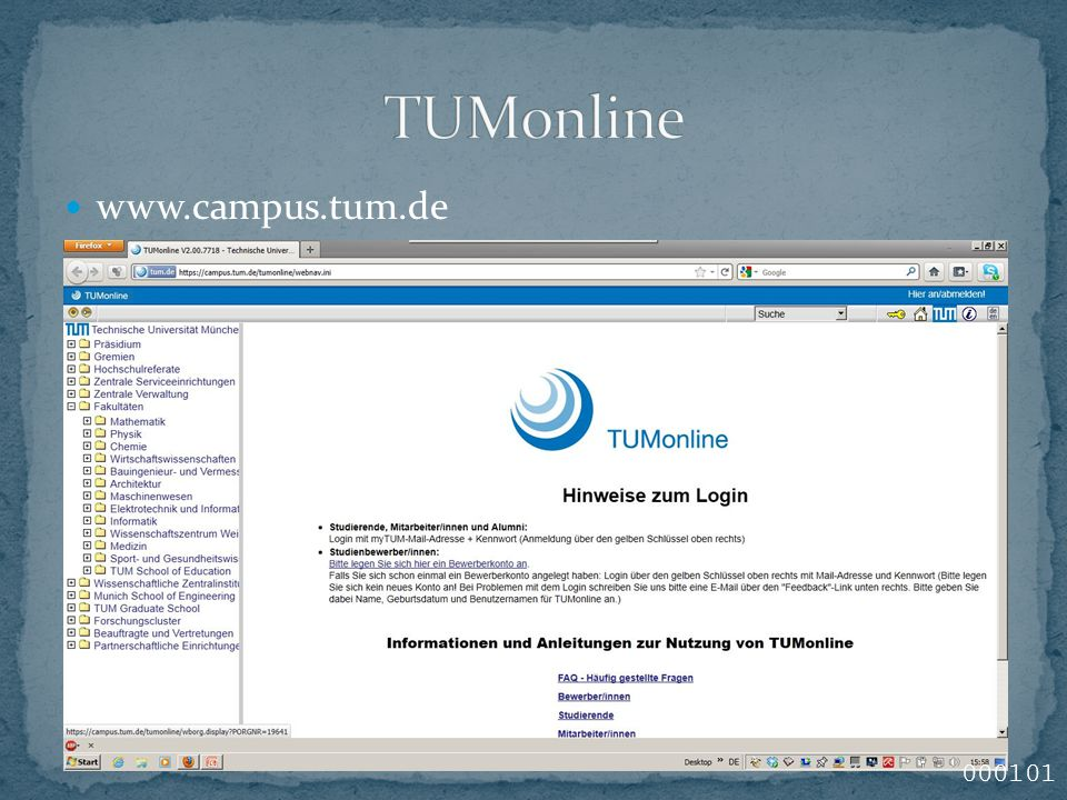 www.campus.tum.de 000101