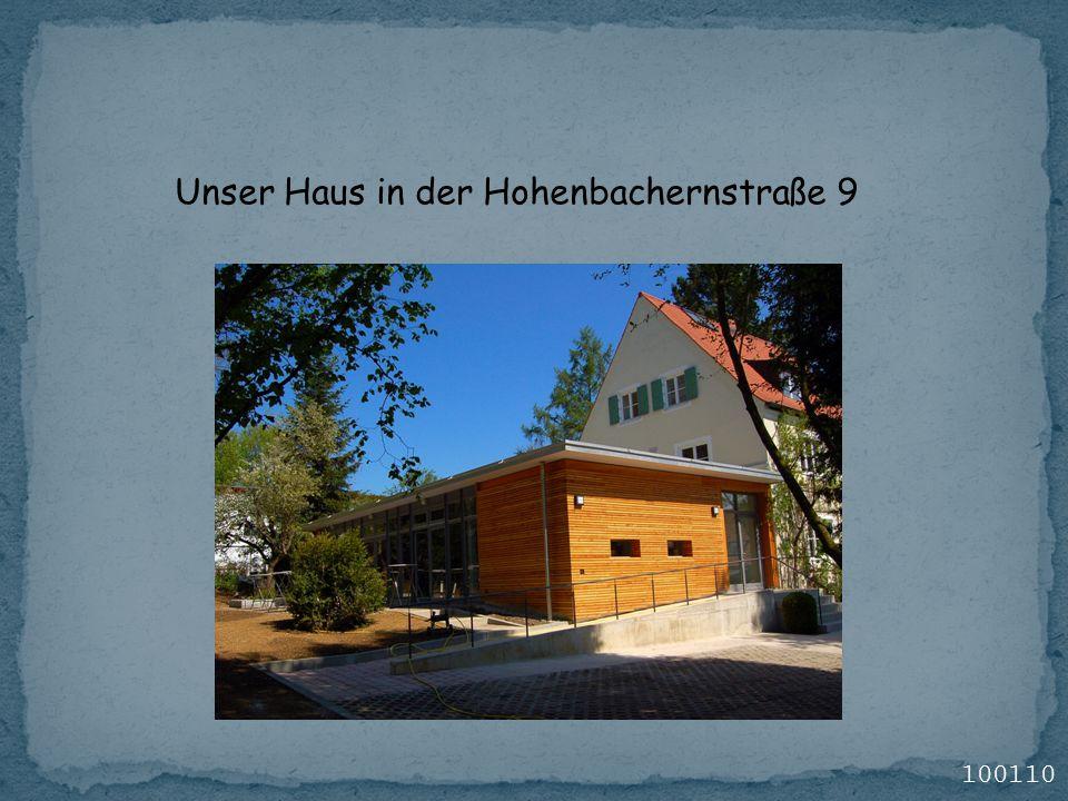 Unser Haus in der Hohenbachernstraße 9 100110