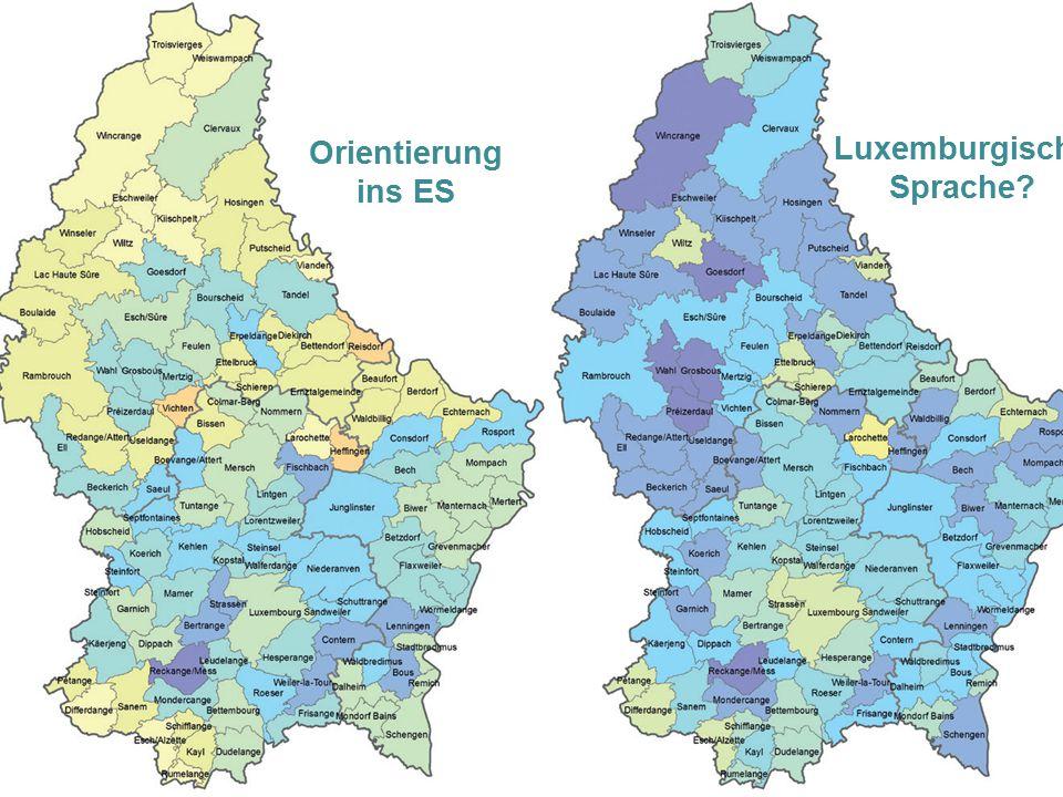 Orientierung ins ES Luxemburgische Sprache?