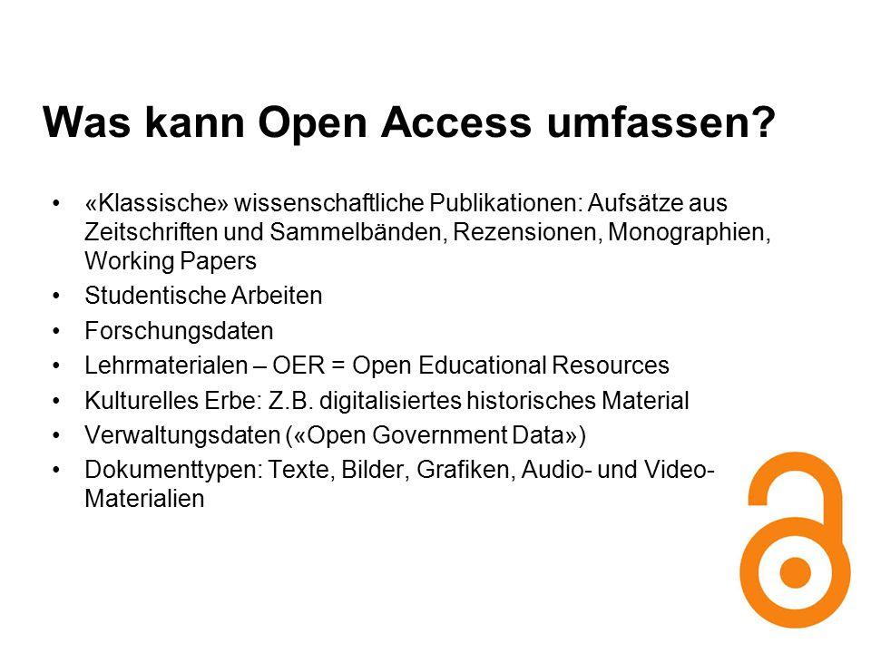 Impact von Open Access-Publikationen: Repositorium Uni Zürich ZORA / Quelle: Kursmaterial von Christian Fuhrer: http://www.oai.uzh.ch/de/an-der- uzh/veranstaltungen/doktorandenkurshttp://www.oai.uzh.ch/de/an-der- uzh/veranstaltungen/doktorandenkurs StudieStudie zum Impact von OA-Publikationen von Alma Swan