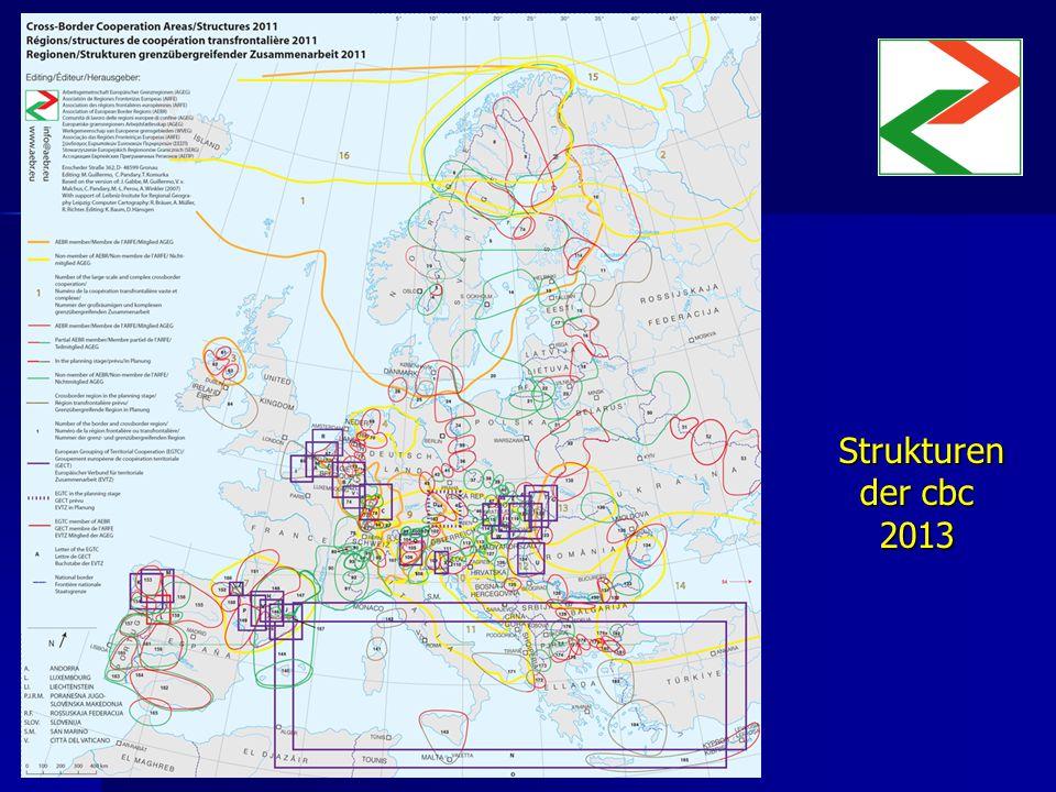 Strukturen der cbc 2013 Strukturen der cbc 2013 Insertar mapa Insertar mapa