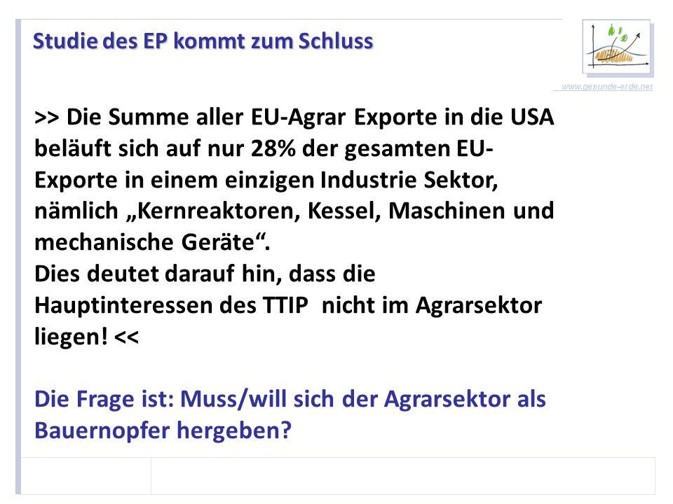 www.gesunde-erde.net CETA-Verhandlungen Blaupause für TTIP.