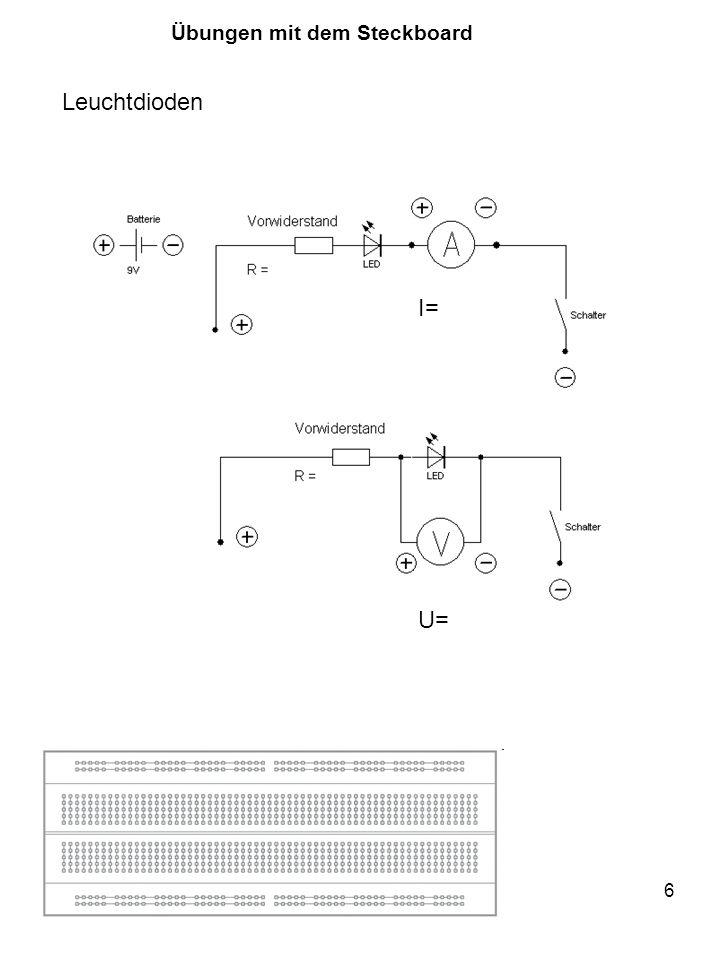 17 void setup() { pinMode(2, OUTPUT); pinMode(3, INPUT); } void loop() { if (digitalRead(3) == LOW { digitalWrite(2, HIGH); } Taster Auf den Widerstand kann verzichtet werden: mit: digitalWrite(3, HIGH);
