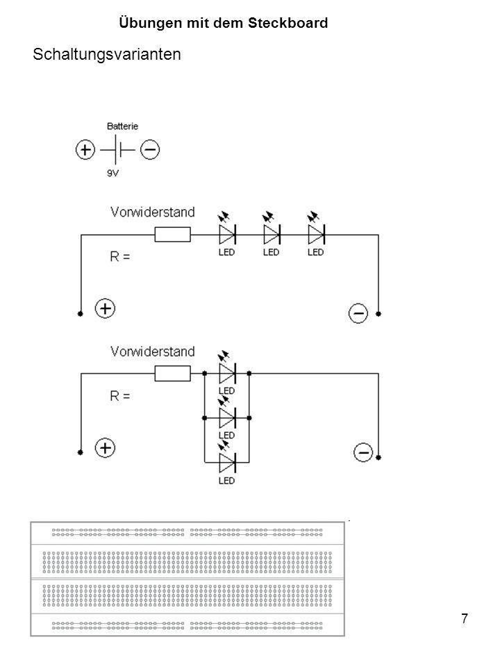 "18 int a = 5; int b = 10; int c = 20; void setup() { Serial.begin(9600); Serial.print( a = ); Serial.println(a); Serial.print( b = ); Serial.println(b); Serial.print( c = ); Serial.println(c); } void loop() { } Monitor Über den Monitor kann man mit dem Arduino sprechen Serial.begin(9600); Serial.println(""Guten Tag! ); if (Serial.available() > 0) { Eingabe = Serial.read(); }"