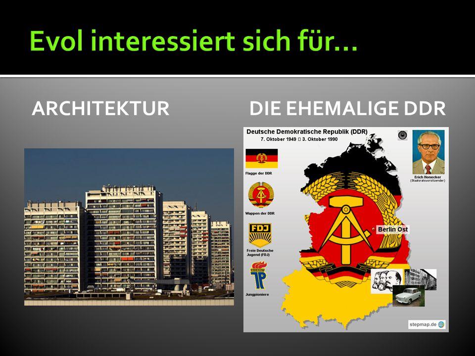 ARCHITEKTURDIE EHEMALIGE DDR