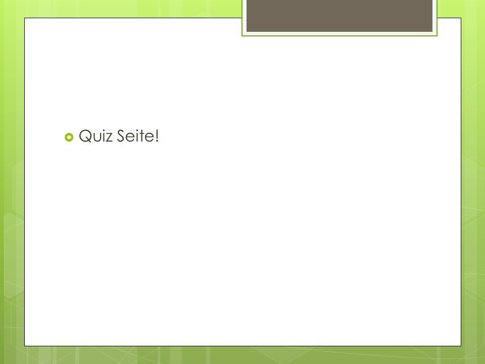  Quiz Seite!