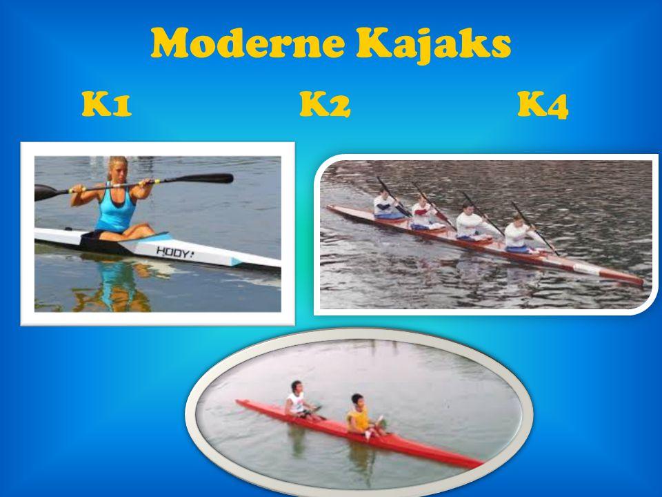Moderne Kajaks K1 K2 K4