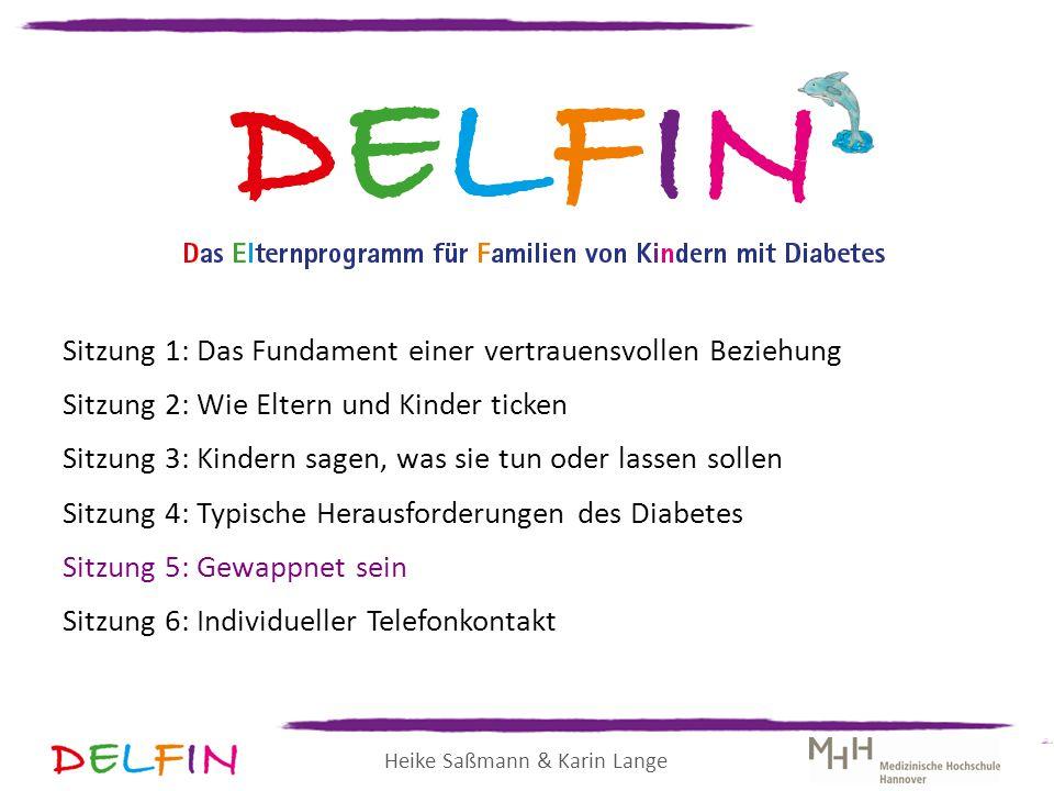 Heike Saßmann & Karin Lange Sitzung 1: Das Fundament einer vertrauensvollen Beziehung Sitzung 2: Wie Eltern und Kinder ticken Sitzung 3: Kindern sagen