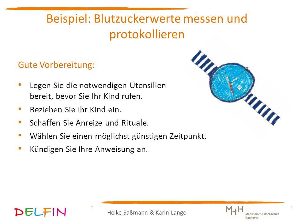 Heike Saßmann & Karin Lange Gute Vorbereitung: Legen Sie die notwendigen Utensilien bereit, bevor Sie Ihr Kind rufen.