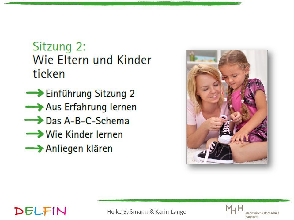 Heike Saßmann & Karin Lange A Ausgangssituation B Bewertung C Konsequenz: Gefühl C Konsequenz: Verhalten Ihr Chef grüßt Sie nicht.