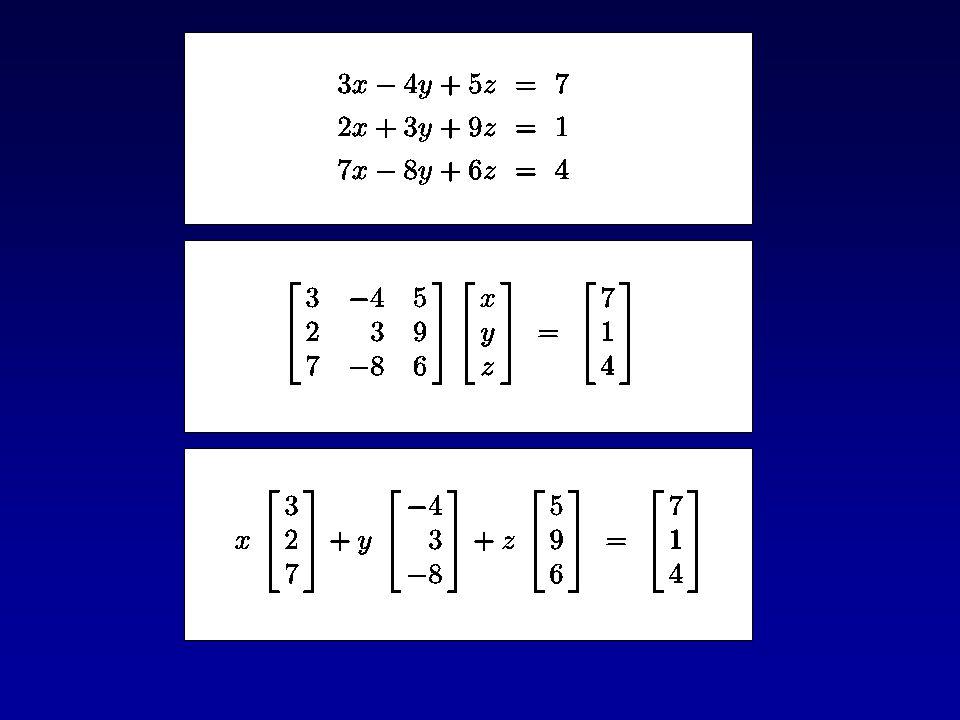 """Ausgleichsrechnung: Wenn ein Gleichungssystem mit mehr Glei- chungen als Unbekannten gegeben ist, sucht man eine """"bestmögliche Näherungslösung."""