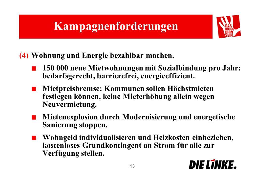 Kampagnenforderungen (4)Wohnung und Energie bezahlbar machen.