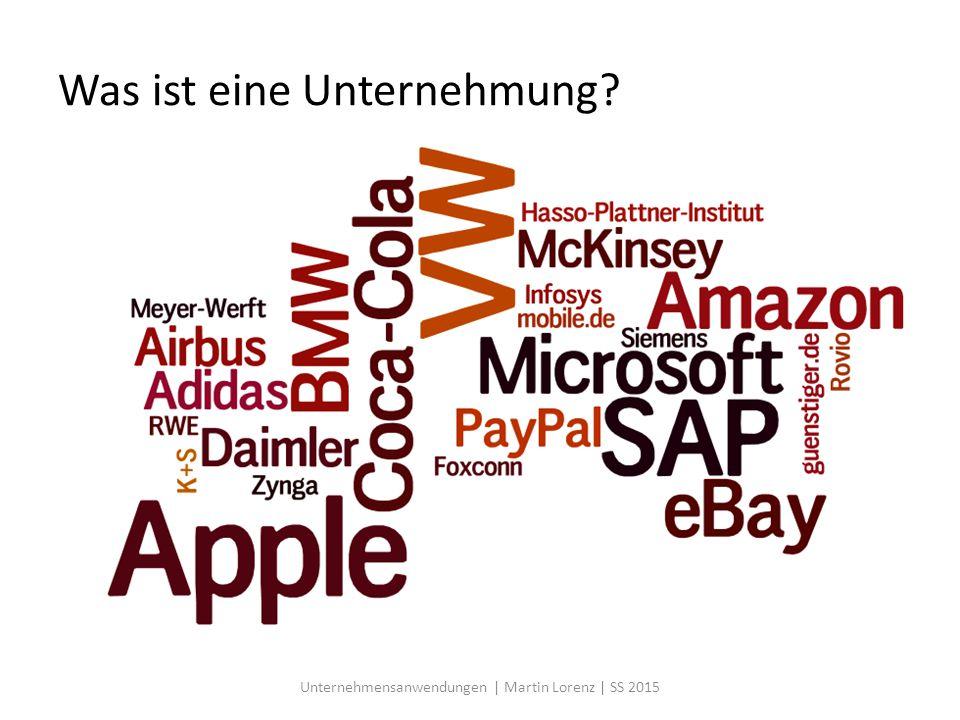 Key Partnerships Unternehmensanwendungen | Martin Lorenz | SS 2015