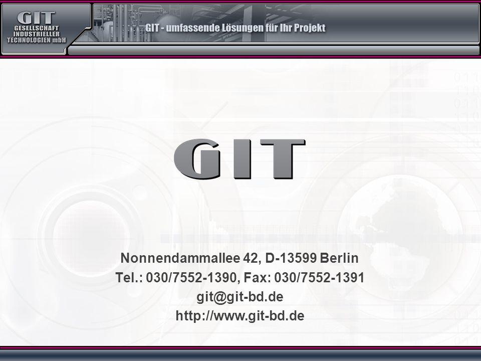 Nonnendammallee 42, D-13599 Berlin Tel.: 030/7552-1390, Fax: 030/7552-1391 git@git-bd.de http://www.git-bd.de