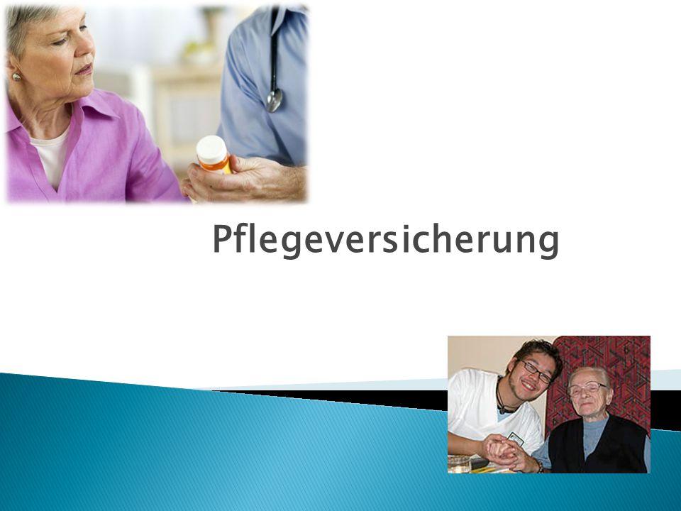 1.Allgemeines 2. Versicherungsträger 3. Pflegekassen 4.