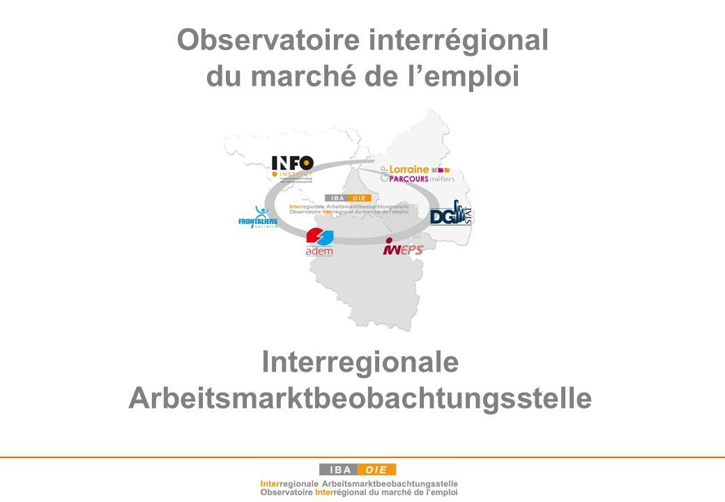 2 Historique de l'OIE / Geschichte der IBA  1998: début de la coopération (4e Sommet de la Grande Région) Entwicklung der Zusammenarbeit (4.
