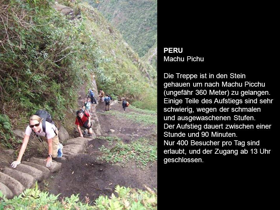 Peru Inka Trail.Eine alte Handelsroute zwischen Cuzco und Machu Pichu.