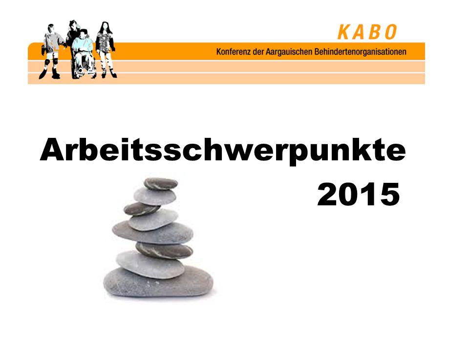 Arbeitsschwerpunkte 2015