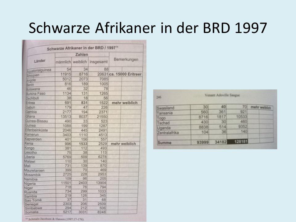 Experiences – West Germany May Ayim - 1960 'wenn ich mal groß sein, gehe ich nach Afrika.