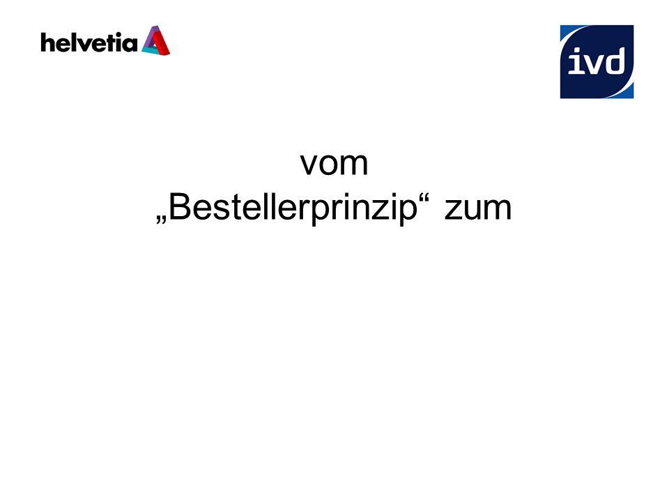 """vom """"Bestellerprinzip"""" zum Best – Seller - Prinzip"""