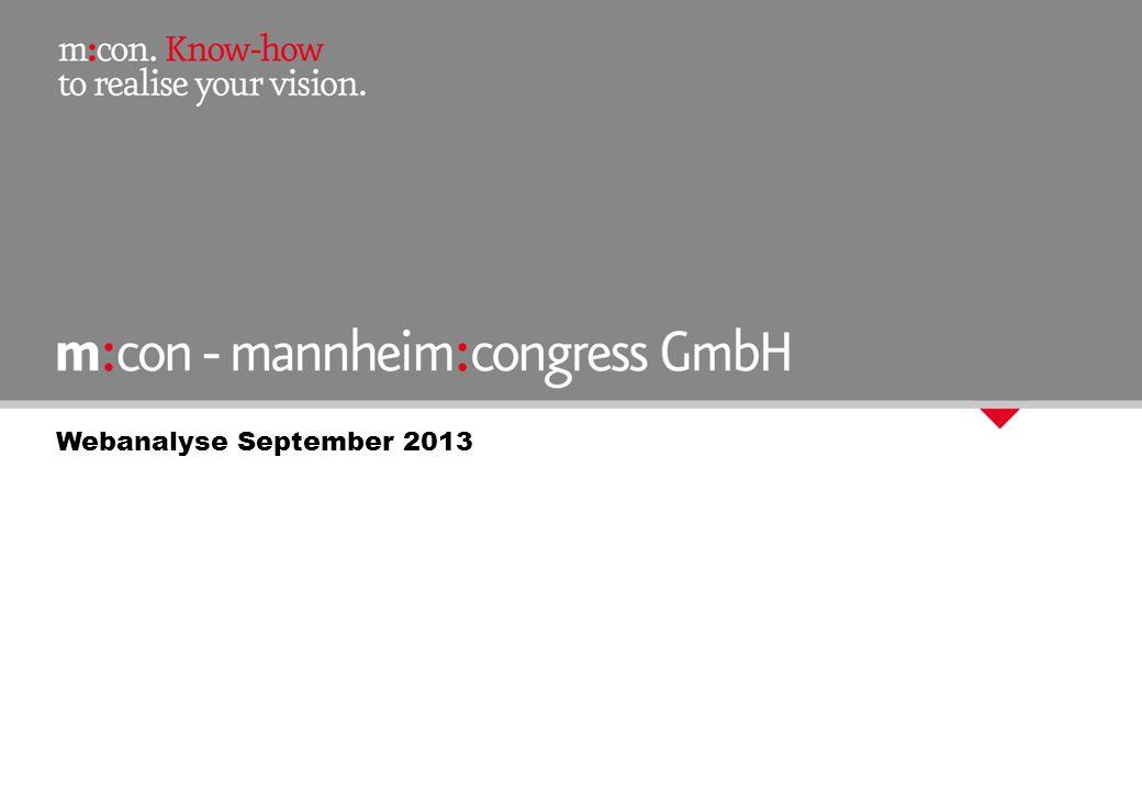 Webanalyse September 2013