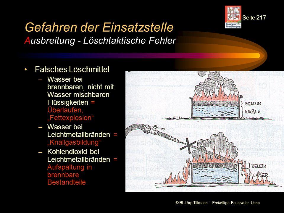 © BI Jörg Tillmann – Freiwillige Feuerwehr Unna Gefahren der Einsatzstelle Ausbreitung - Wärmestrahlung Wärmestrahlung ist elektro- magnetische Wellenstrahlung, d.h.