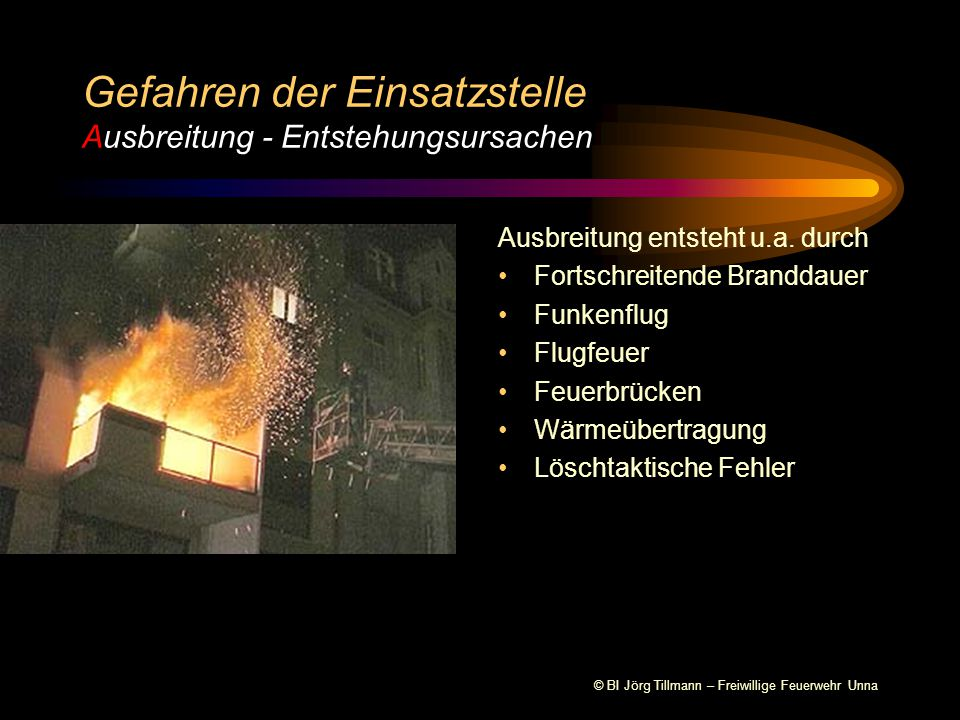 © BI Jörg Tillmann – Freiwillige Feuerwehr Unna Ausbreitung entsteht u.a.