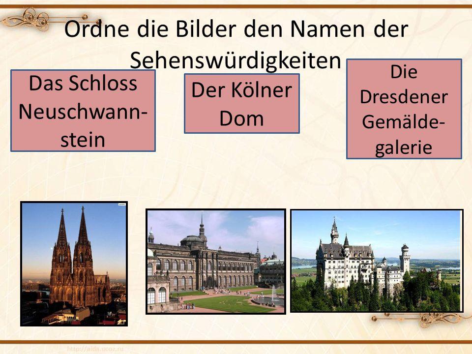 Wie heißt der höchste Berg Deutschlands? der Brocken die Zugspitze der Großglockner