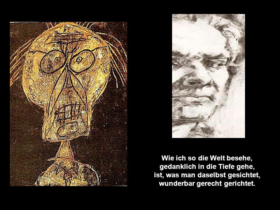 DER AUSGLEICH Autor: Gerd Hess © Wie ich so die Welt besehe, gedanklich in die Tiefe gehe, ist, was man daselbst gesichtet, wunderbar gerecht gerichtet.