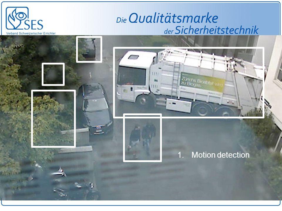1.Motion detection