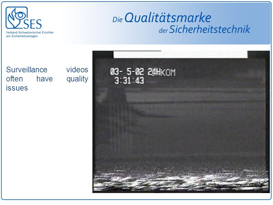 Video besteht aus einer Reihe von frames PAL laeuft ab an 25 fps ( frames pro Sekunde ) In einem traditionellen Video, wie zB PAL, enthaelt jedes frame 2 Felder, interlaced INTERLACING ungerades Feld gerades Feld Ein Frame