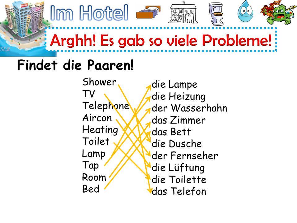 Shower TV Telephone Aircon Heating Toilet Lamp Tap Room Bed die Lampe die Heizung der Wasserhahn das Zimmer das Bett die Dusche der Fernseher die Lüft