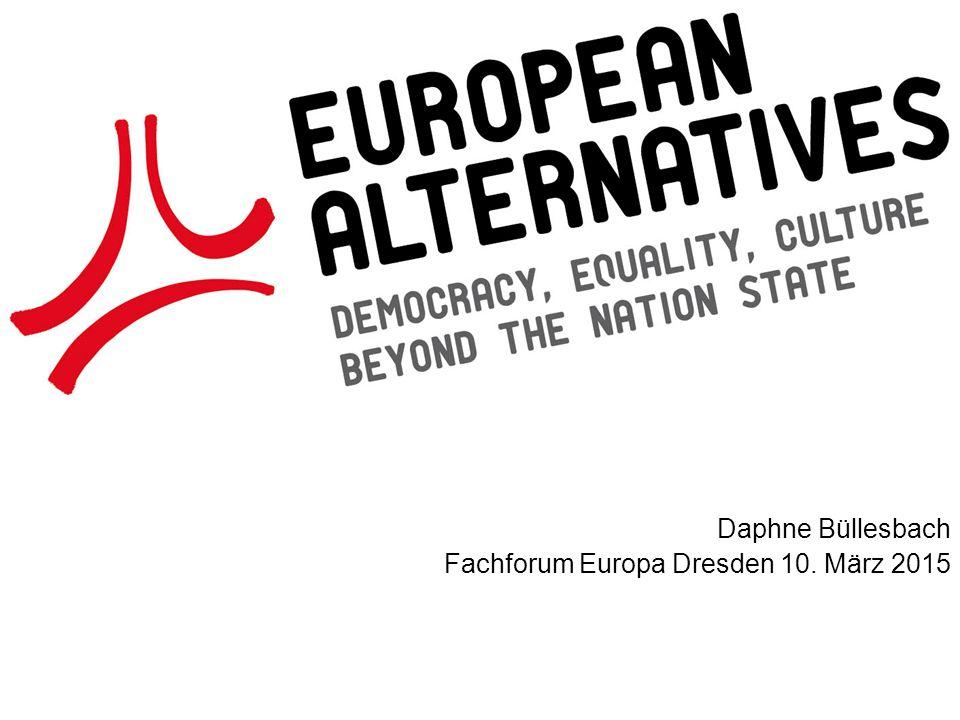 Daphne Büllesbach Fachforum Europa Dresden 10. März 2015