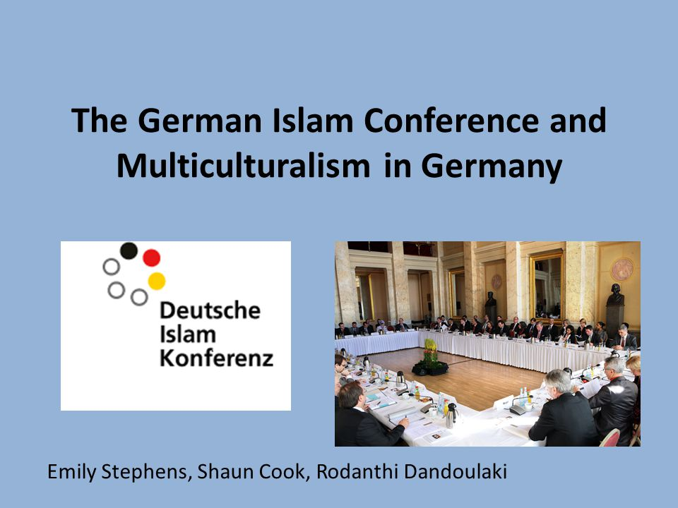 Our aims to understand the concept of multiculturalism and its place in Germany to understand the context and the aims of the German Islam Conference to analyse whether it has had its desired effect to determine why the policy of multiculturalism has failed in Germany to discuss the positive and controversial aspects of the conference in terms of multiculturalism